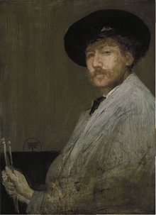 James Whistler, autoportrait