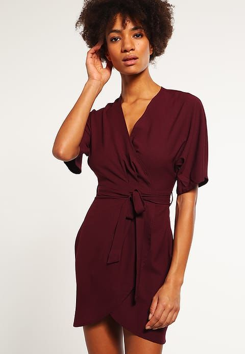 Missguided Summer dress - plum for £32.99 (18/11/16) with free delivery at Zalando