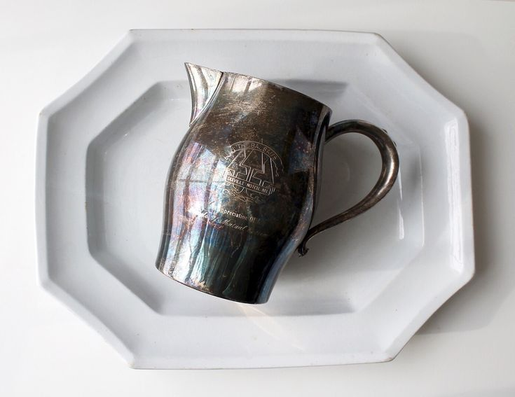 vintage hotel silver pitcher / the balsams / dixville notch new hampshire / tippleandsnack