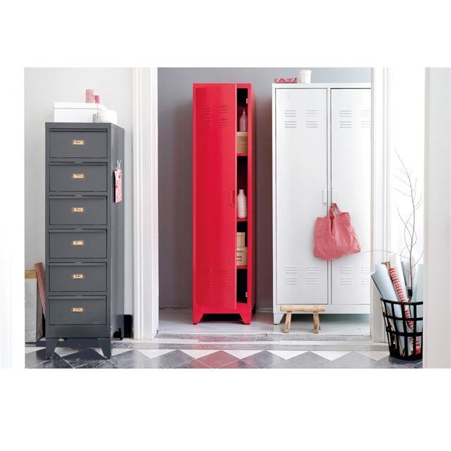 chiffonnier clapets en m tal hiba la redoute interieurs wish list d co pinterest. Black Bedroom Furniture Sets. Home Design Ideas
