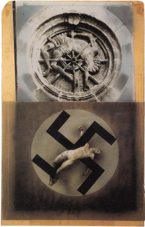 Wie im Mittelalter... John Heartfield, 1934. Histoire des arts, corps soumis, critique.