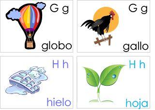 Aprendo jugando en casa: Tarjetas del alfabeto                                                                                                                                                                                 Más