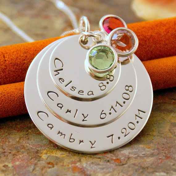 Love this!!   Mothers necklace
