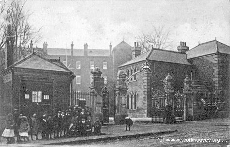 Highgate Hill Infirmary, c.1904