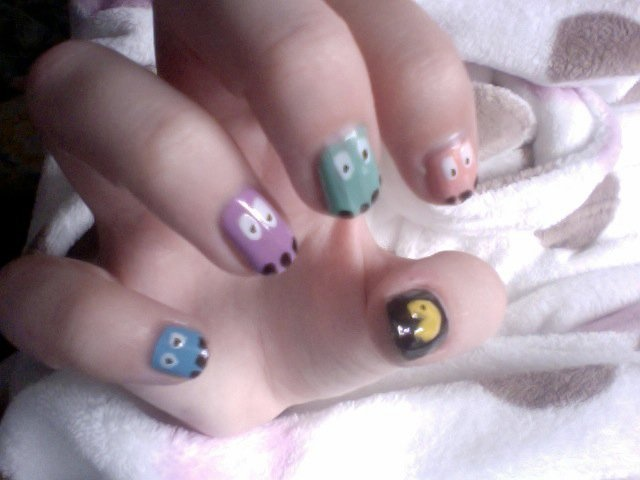Best 25 pac man nails ideas on pinterest mens nails men nail pac man nails pacman nails nailart prinsesfo Image collections
