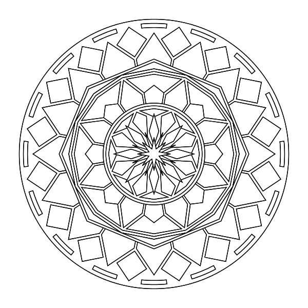 free printable coloring pages mandala designs | Tons of printable mandala designs free for download. Print ...