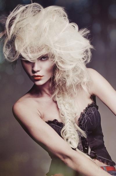 : Halloween Hair, Real Women, Beautiful, Medium Hair, Avant-Garde, Hair Style, Big Hair, Fishtail Braids, Forefront