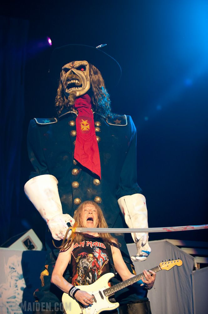 Iron Maiden's gonna get you!
