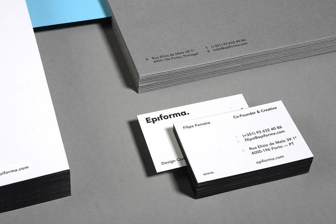 """Branding / Stationery / Epiforma  