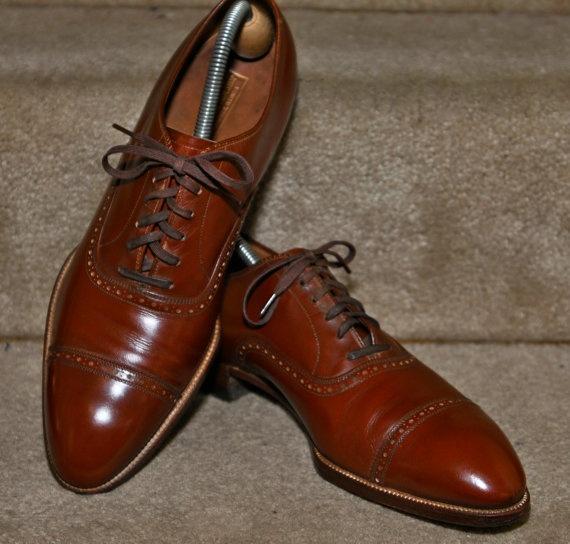 Mens Cap Toe Spectator Shoes