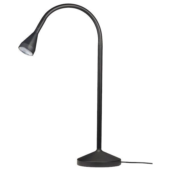 Navlinge Led Bureaulamp Zwart Ikea In 2020 Black Lamps Lamp Work Lamp