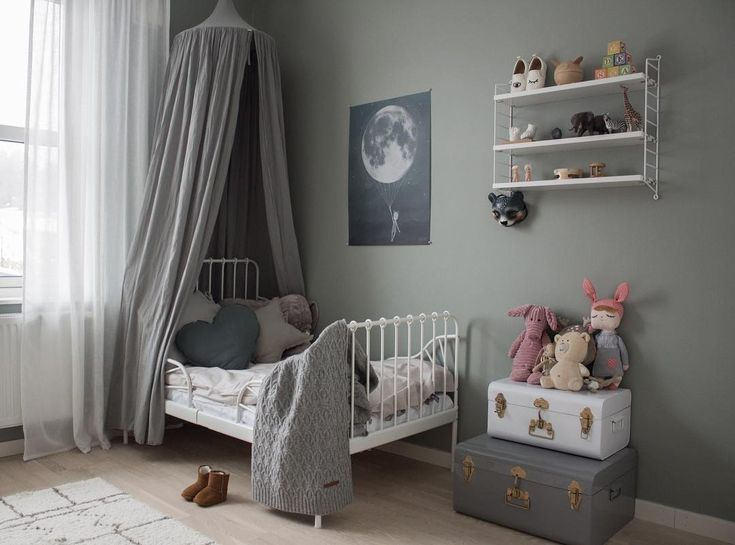 A fabulous little space! Numero74 canopy in silver grey ✨