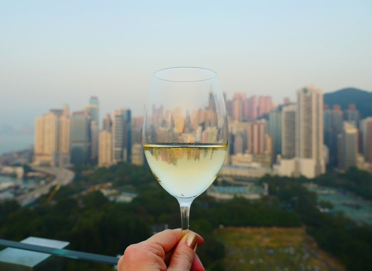 From Hong Kong with wine<3