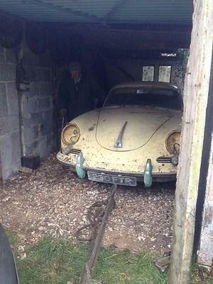 1960 Porsche 356 B Super 90. Very Rare RHD. Barn Find. Ideal Restoration Project | eBay #porsche