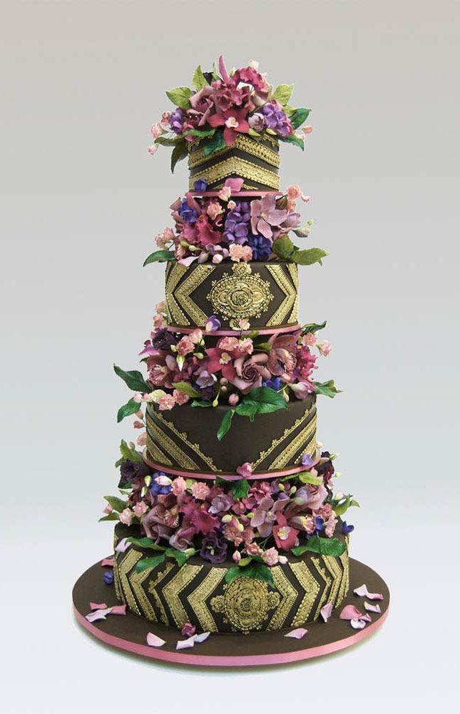 470 best Wedding Cakes images on Pinterest