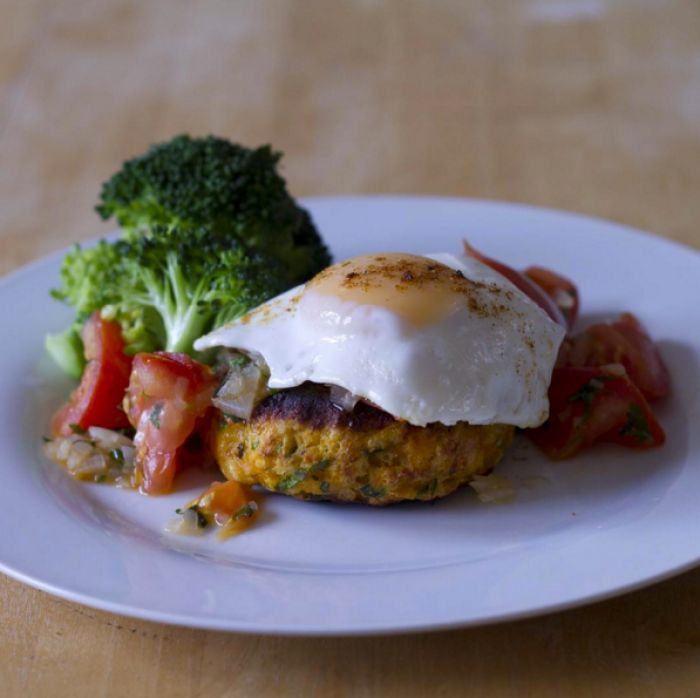 Recipe of the day: Try these super easy lean sweet potato cakes / The Body Coach Blog / The Body Coach