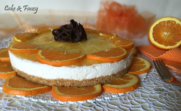 Torta yogurt crema arancia C & F