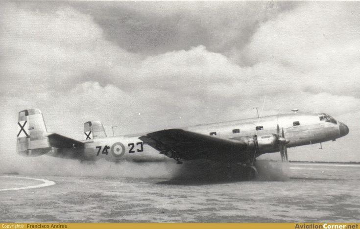 Junkers Ju-290A-5 de la Fuerza Aérea española de Salamanca - Matacán 1954