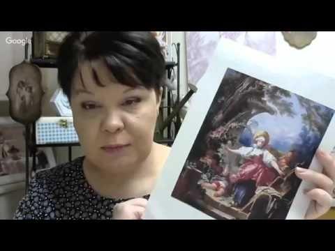 """Людмила Михайловская - Шкатулка """"Предвкушение"""". Секреты мастеров (26.11.2015) - YouTube"""