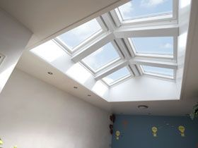 49 best daylight in vaulted rooms images on pinterest for Where to buy atrium windows