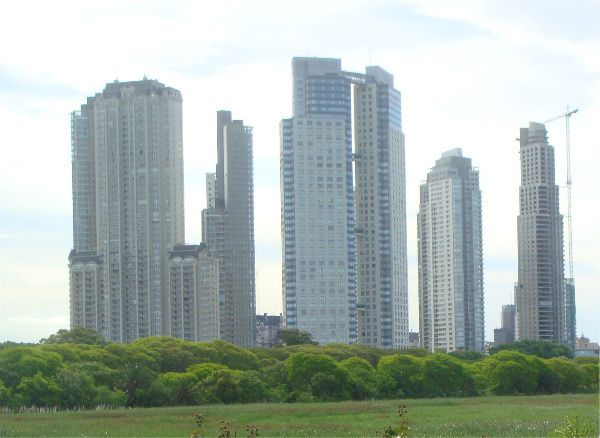 modern buenos aires buildings