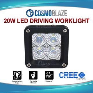 Cosmoblaze 20W CREE LED DRIVING WORKLIGHT Car 4WD Spot 24V/12V Light