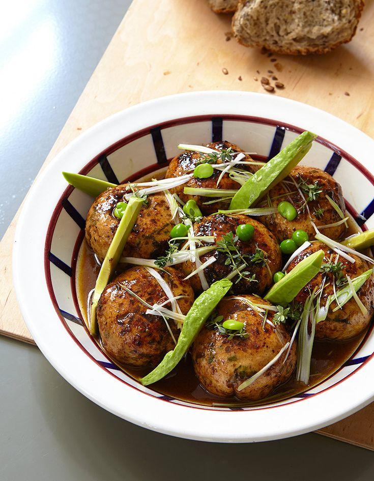 Boulettes de poulet et petits pois pour 4 personnes - Recettes Elle à Table
