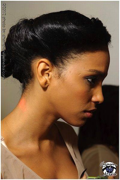triangle bobby pin design | NYFW Spring/Summer 2013 Haircut Trends: How To Get A Modern French ...
