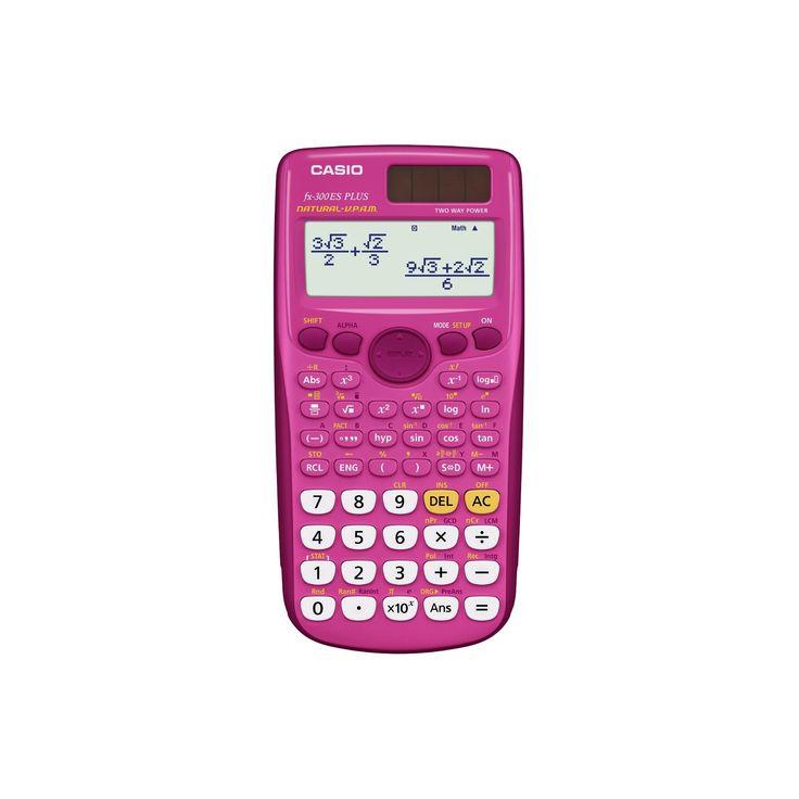 Casio FX-300ESPlus Scientific Calculator - Pink
