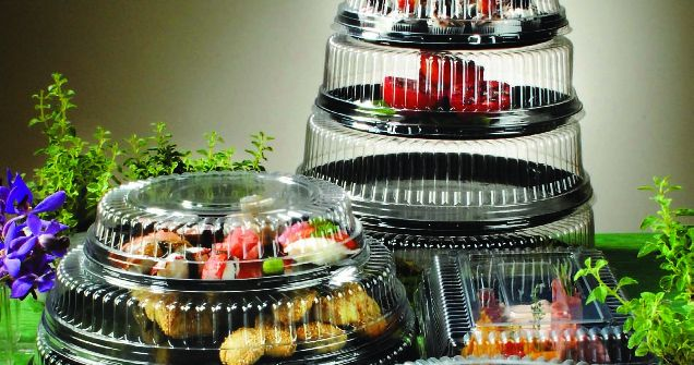 Plastic Food Containers with Lids Wholesale Canada   Disposable Catering Supplies in Toronto   Partytrends.ca http://www.partytrends.ca/catalog/caterware/