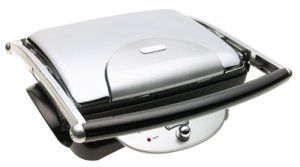 Above all, we found the De Longhi CGH800 to be the best panini maker in terms of versatility. The tough exterior as well as carefully built interior makes this an year long device that doesn't break down