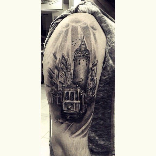 #galatatower #galata #bodyart #tattoo #tahiryıldırım #tattoodesign  #tram #nostalgictram #taksim #vsco  #vscocam #inked #ink #tattoos #inkcommunity #istanbul #instaart  #instatattoo #tatted #tattoist #amazingink #blackandgreytattoo @world_wide_collective_ @tattoomobileblack @inkcommunity  @inkjunkeyzmag