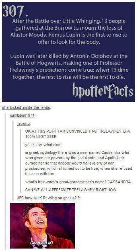 Rowling did it again! It's too good, man.