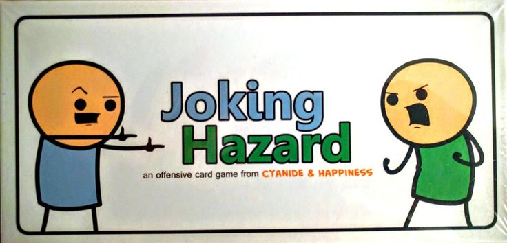 "From the creators of Cyanide & Happiness comes a card game where players compete to finish an awful comic strip.  The creators said:  ""Someone on the Internet once told us that making stick figure comics is easy as hell, and that we were ugly and stupid.  They were right on all counts. So, after crying for a few hours, we created the Random Comic Generator which since its inception in 2014 has entertained millions with its computer-generated comedy.  After a few weeks of play..."
