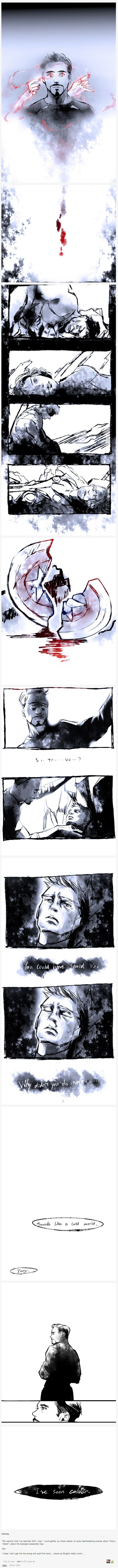 The vision Scarlet Witch made Tony dream | Avengers Age of Ultron | By luosong