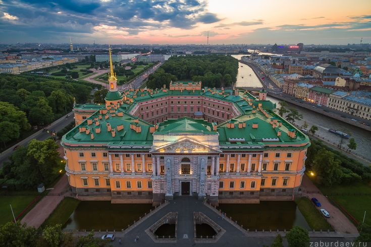 35PHOTO - Станислав Забурдаев - Летний Петербург с квадрокоптера
