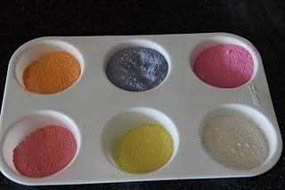 Colored sand chalk..: Colors Sands, Sands Artworks, Colour Sands, Kiddie Crafts, Colour Chalk, Chalk Sands, Colors Chalk, Chalk Colour, Kids Crafts