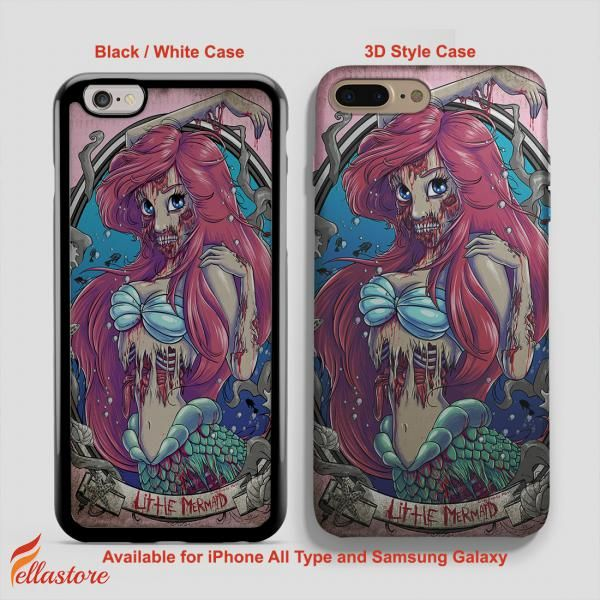 beautiful Little Mermaid Zombie, Disney iPhone 7-7 Plus Case, iPhone 6-6S Plus, iPhone 5 5S SE, Samsung Galaxy S8 S7 S6 Cases and Other Check more at https://fellastore.com/product/little-mermaid-zombie-disney-iphone-7-7-plus-case-iphone-6-6s-plus-iphone-5-5s-se-samsung-galaxy-s8-s7-s6-cases-and-other/