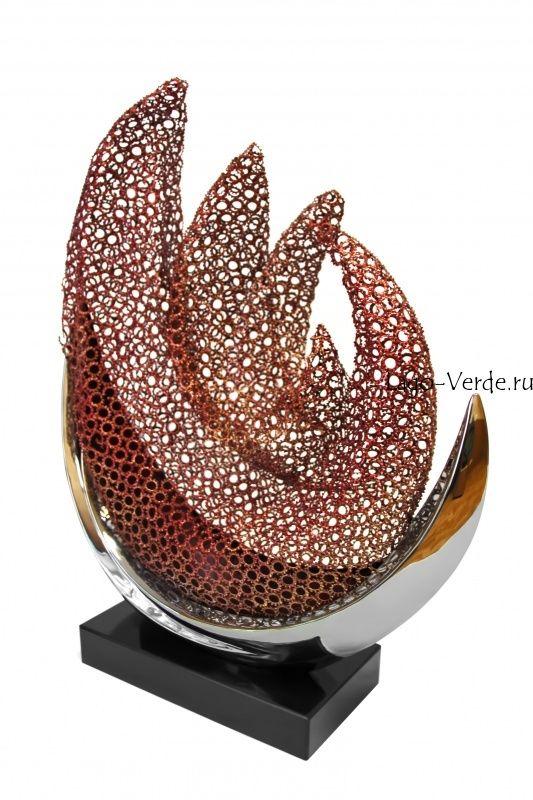 """Современная скульптура """"Steel & Iron"""" купить в интернет-магазине современной скульптуры для сада и интерьера"""