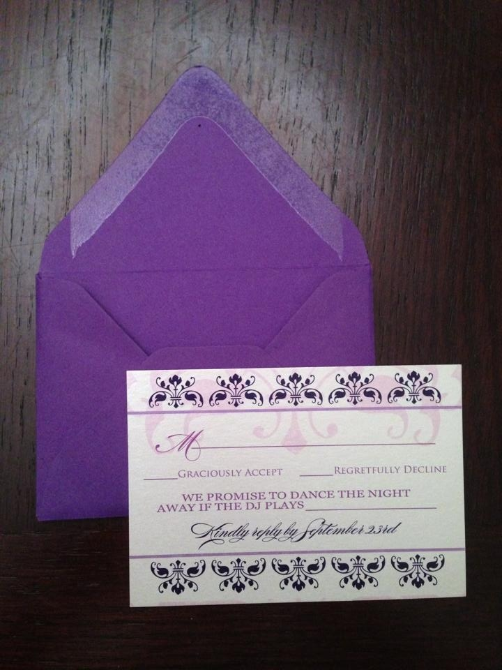 Invitation Suite with luxury invitations example