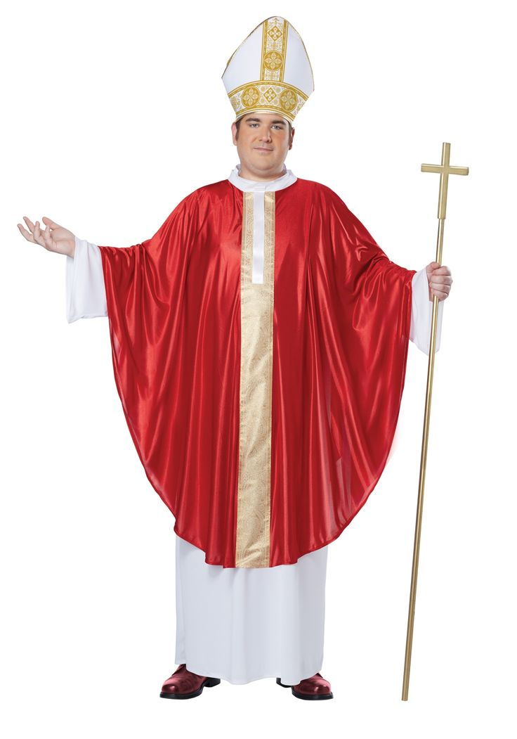 Plus Size Pope Costume