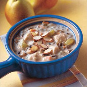 Slow Cooker Wild Rice Soup - simple, filling, delicious!
