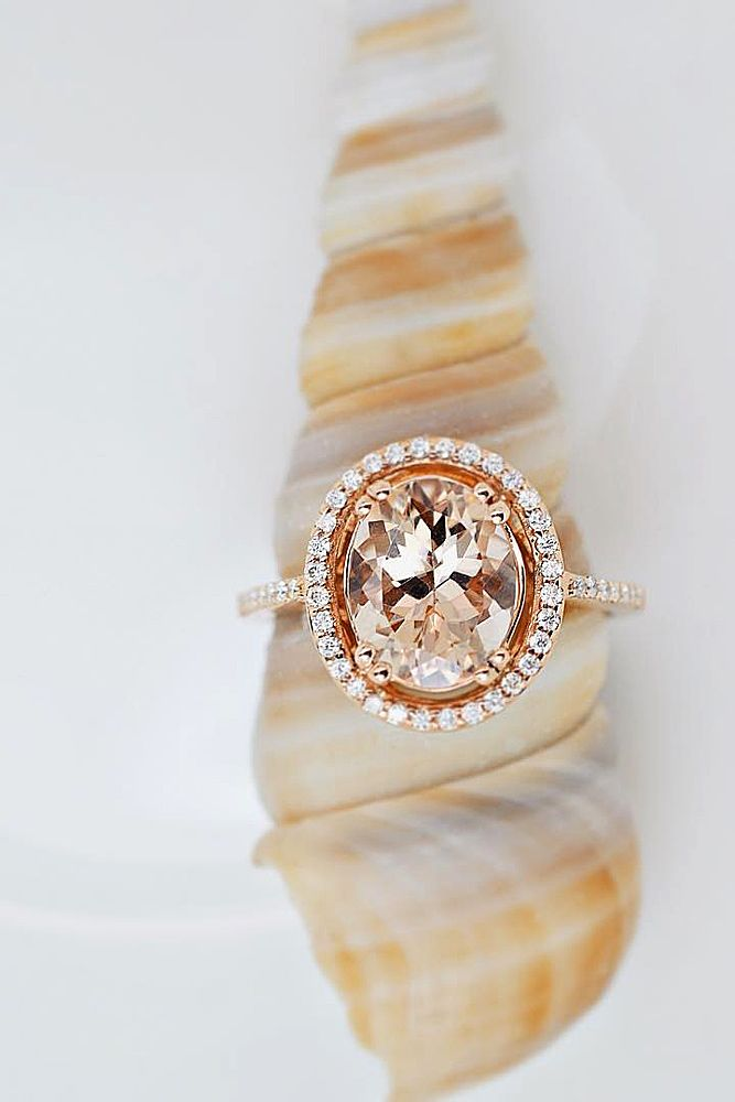 18 Morganite Engagement Rings Were Are Obsessed With ❤ Morganite engagement rings can be good alternative to the traditional diamond rings. See more: http://www.weddingforward.com/morganite-engagement-rings/ #wedding #engagement #rings