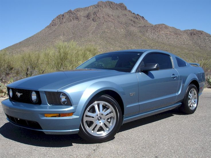 Windveil Blue 2006 Mustang GT