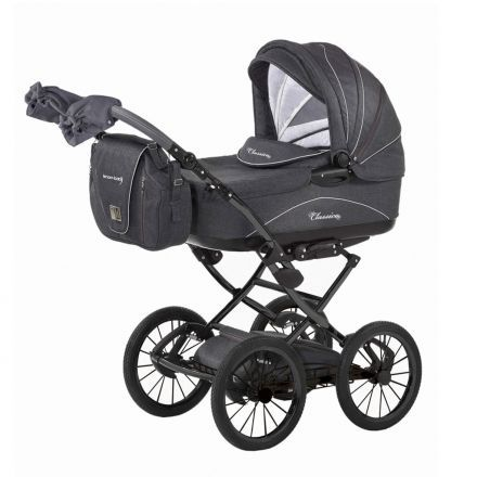 Knorr Baby Classico Kinderwagen Grau