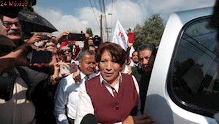 Aparentan limpiar elección con recuento de votos: Delfina
