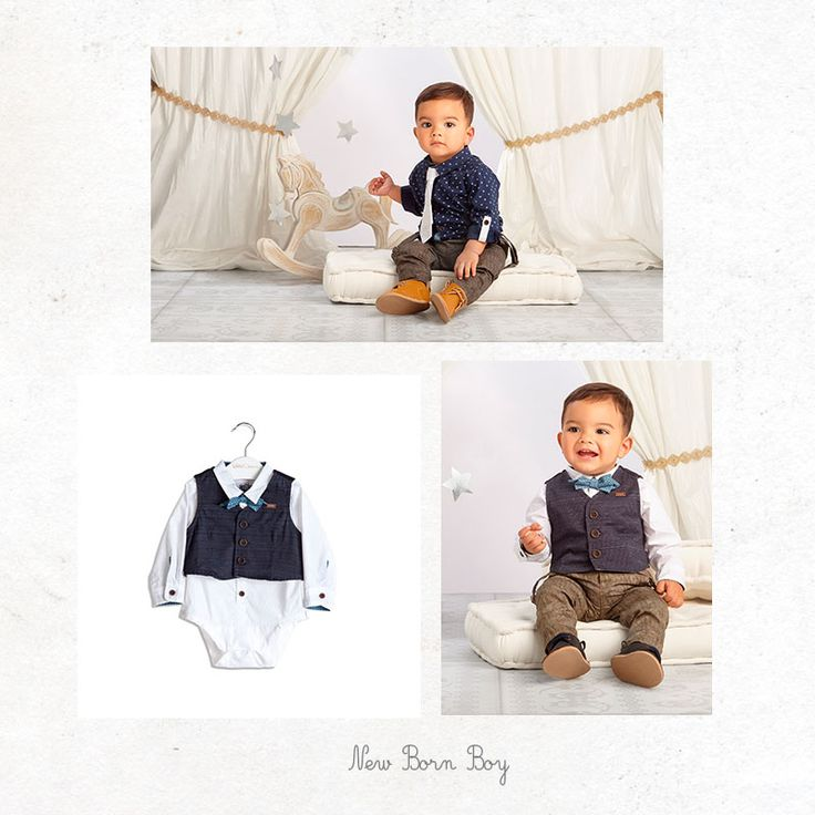 Elegant look for baby boy #corbatín #suit #fashinkids #fashionbabyboy #specialoccasions #SpecialOC #OFFCORSS