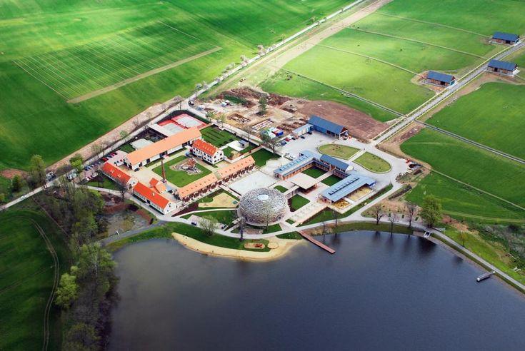 The Stork Nest Farm in Olbramovice, Czech Republic by SGL Projekt s.r.o.