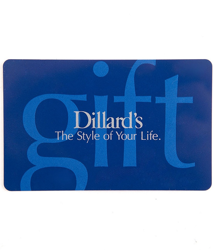 The Style Of Your Life Everyday Gift Card Dillards