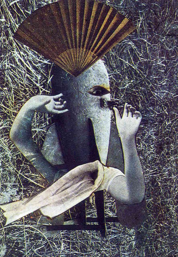 The Chinese Nightingale - Max Ernst (1920)